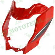 Обтекатель передней фары, пластик Loncin JL200-68A CR1S 341430664-0022 #2