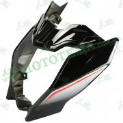 Обтекатель передней фары, пластик Loncin JL200-68A CR1S 341430664-0020 #1