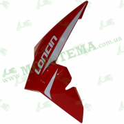 Пластик топливного бака ЛЕВЫЙ красный Loncin JL200-68A CR1S 340020072-0024