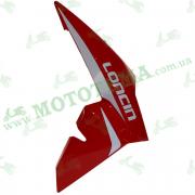 Пластик топливного бака ПРАВЫЙ красный Loncin JL200-68A CR1S 340030067-0024