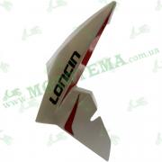 Пластик топливного бака ЛЕВЫЙ белый Loncin JL200-68A CR1S 340020072-0021