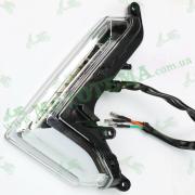 Поворотник (указатель поворота) передний ЛЕВЫЙ LED Loncin JL200-68A CR1S 280760580-0001