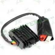 Реле-регулятор напряжения (зарядки) Loncin JL200-68A CR1S 12V 1.5A 270880180-0001