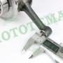 Коленчатый вал (коленвал) двигателя 163FML CGP200 Loncin LX200GY-3 Pruss, JL200-3 Spitzer 130140033-0001
