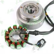 Генератор 12V с обгонной муфтой Loncin CGP210 LX200GY-7A DS1 270010045-0002