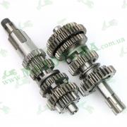 Первичный и вторичный вал КПП CGP210 Loncin LX200GY-7A DS1 500290509-0001