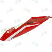 Боковой пластик задний ЛЕВЫЙ Loncin LX250-15 CR4 342040201-0039