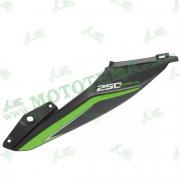 Боковой пластик задний ЛЕВЫЙ Loncin LX250-15 CR4 342040201-0038