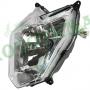 Фара передняя 12V 35W/35W HS1+LED Loncin LX250-15 CR4 280350913-0001