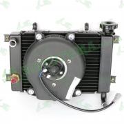 Радиатор системы охлаждения Loncin VOGE 300RR (LX300GS) 160010121-0001