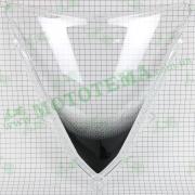 Ветровое стекло обтекателя, пластик Loncin VOGE 300RR GP300 341340073-0001