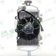 Радиатор системы охлаждения с вентилятором ПРАВЫЙ Loncin LX300GY SX2 PRO 160010108-0001