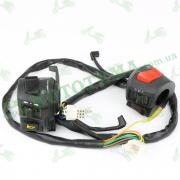 Блоки кнопок управления электрикой на руле MUSSTANG MT150-7, MT200-7