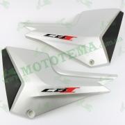Пластик боковой центральный, нижний (пара) MT150/200-7