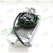 Радиатор охлаждения в сборе с вентилятором (правый) Shineray XY250GY-7