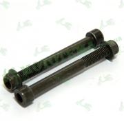 Винт M10*1.25*90, гайка M10*1.5 (крепления заднего амортизатора) Shineray XY250GY-6B