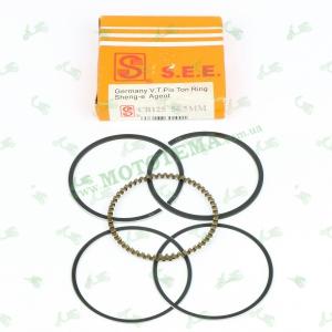 Поршневые кольца Viper ZS125J 56.5mm SEE (ОРИГИНАЛ)