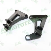 Кронштейн задних подножек (пара) V200-F2/V250-F2