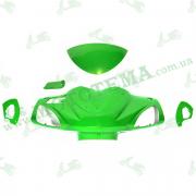 Голова, спойлер, боковые заглушки, пластик YIBEN YB50-15D, 150QT-15D