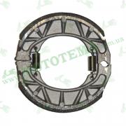 Тормозные колодки, барабан на R12 колесо YIBEN YB50QT-15D, YB150QT-15D