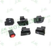 Комплект кнопок (6шт) YB50/150QT-15D
