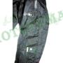 Мотокуртка короткая текстильная черная ATROX NF-7163