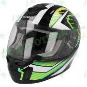 Шлем (интеграл) ISPIDO PULSE зеленый multi