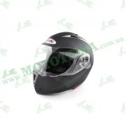 Шлем (модуляр) Ataki FF105 Solid черный глянцевый
