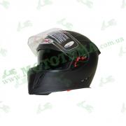 Шлем (интеграл) Ataki FF311 Solid черный матовый    S