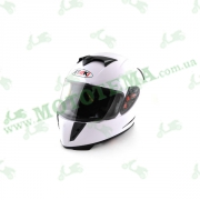 Шлем (интеграл) Ataki FF311 Solid белый глянцевый   M
