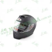 Шлем (интеграл) Ataki FF311 Solid черный матовый XL
