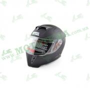 Шлем (интеграл) Ataki FF311 Solid черный матовый   M