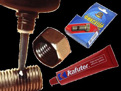 Клеи, герметик, фиксаторы