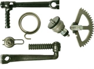 Кикстартер, заводной механизм